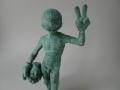 Lessons of adolescence # David, Bronze, Edition 5 + 1 ap, ca. 20 cm high