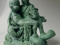 Lessons of adolescence # Thinker, Bronze, Edition 5 + 1 ap, ca. 20 cm high #Piëta